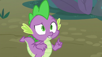 Spike -it's called the molt effect- S8E11