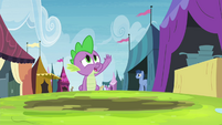 Spike crying -no!- S4E22