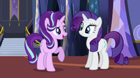 Starlight Glimmer --we can start with the dresses-- S6E21
