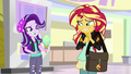 Sunset Shimmer looks embarrassed at Starlight EGS3.png