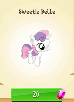 Sweetie Belle MLP Gameloft