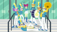 The Canterlot High School band EGDS4