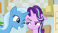 Trixie winks at Starlight Glimmer yet again S9E20