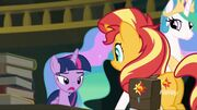 Twilight, Sunset and Celestia