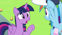 Twilight Sparkle --that could lead to trouble!-- S6E24