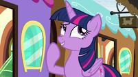 Twilight Sparkle -I guess so- S8E6