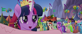 Twilight surprised by Songbird's arrival MLPTM