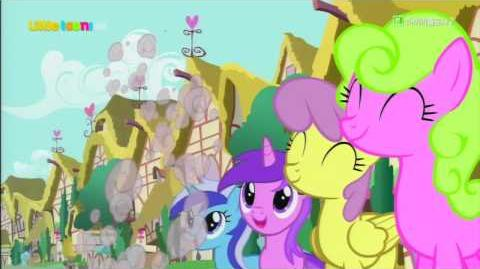 -Korean Dubbed MLP-Smile song