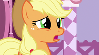 Applejack -I don't think they liked- S7E9
