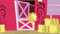 Applejack sigh in relief S1E25