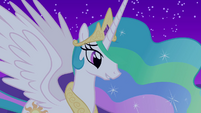 "Celestia ""since you've come to Ponyville"" S03E13"