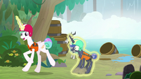 Celestia drags Luna to the next activity S9E13