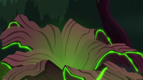 Everfree Forest tree cracking open S8E13