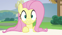 Fluttershy hears Rarity call her name S6E21