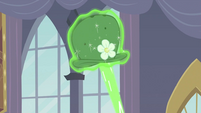 Hat being hit by magic S2E26