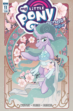 Legends of Magic issue 11 cover A