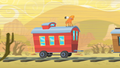 Little Strongheart On Top of Caboose S1E21.png