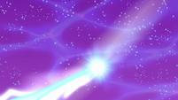 Luna's magic sealing the rift S5E13
