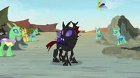 Pharynx being accepted by the changelings S7E17