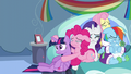Pinkie Pie holding Twilight sorrowfully S5E5.png