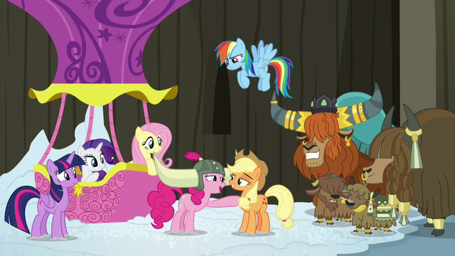 File:Pinkie plays a yak practical joke on Applejack S7E11.png