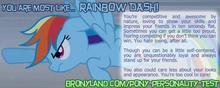 Pony personality test