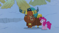 Prince Rutherford -yak retire to new sleeping hut- S7E11