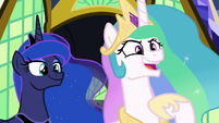 "Princess Celestia ""friendship problem?"" S9E13"