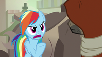 Rainbow -what did Daring Do ever do to you- S7E18