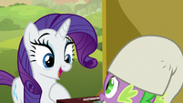 "Rarity ""for you to teach me the game"" S9E19"