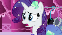 "Rarity ""so plain, it's frightening"" S5E21"