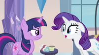 Rarity beyond cute ear drop S3E12