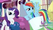 S03E11 Spike proponuje Rarity i Rainbow oddanie pupila pod jego opiekę
