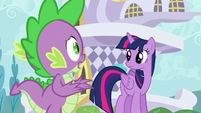 Spike -what are we gonna do-- S5E12