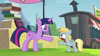 Twilight about to accept trade S4E22