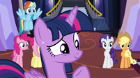 Twilight signs Spike to bring in food S5E11