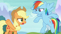 AJ and Rainbow have their first disagreement S8E9