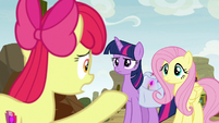 "Apple Bloom ""might destroy the whole town!"" S9E22"