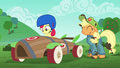 Apple Bloom in a new speed cart S6E14.png