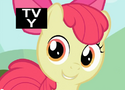 Apple Bloom is missing an eyelash S2E06