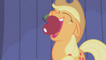 Applejack about to eat an apple S1E06.png
