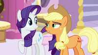 Applejack bluntly -it's awful- S7E9