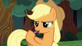 Applejack spitting on her hoof S6E18.png