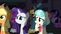 Coco Pommel pleased by the turnout S5E16