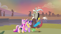 Discord 'and she never pops in for a visit' S4E11
