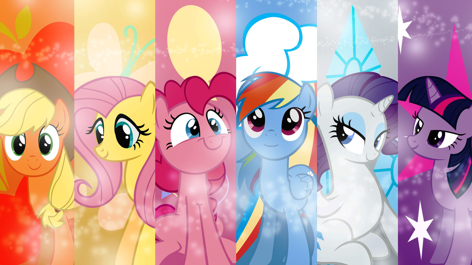 Image - FANMADE My Little Pony Friendship is Magic Mane 6 ...