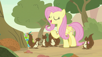Fluttershy -that should be enough flowers- S8E23