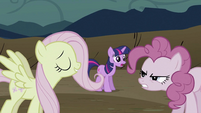 Fluttershy continues to anger Pinkie S2E2