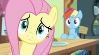 Fluttershy hears Zephyr Breeze's voice S6E11