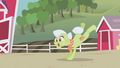 Granny Smith dancing in AJ's fantasy S1E03.png